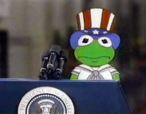 Kermit goes to washington