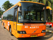 Ksrtc volvo lowfloor
