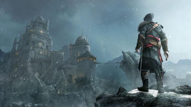 Ezio at Masyaf
