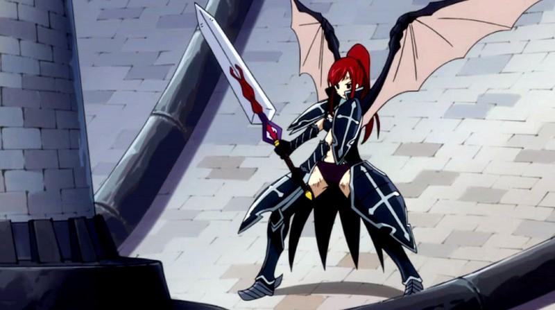 Added by Erza Scarlet99Erza Scarlet Black Wing Armor Cosplay