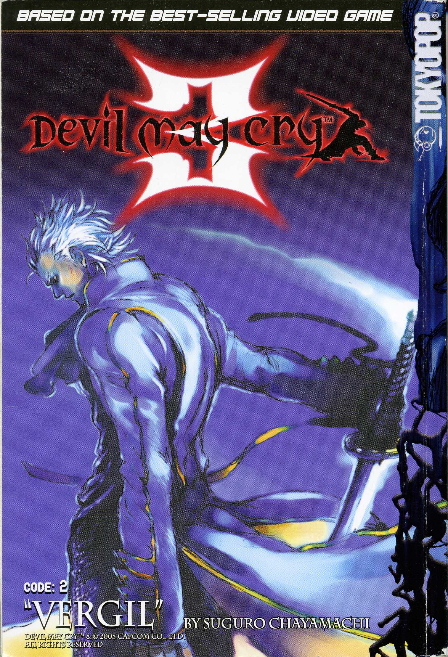 Dmc3 manga vergil