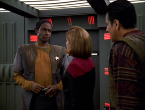 Janeway Chakotay Tuvok Repression
