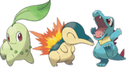 Goldsilvernew johto starters artwork