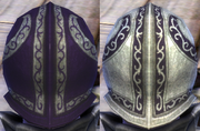 Plate Purple Dark Dye