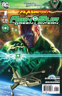 Flashpoint Abin Sur - The Green Lantern Vol 1 1