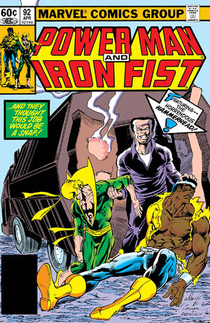 Power Man and Iron Fist Vol 1 92