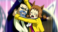 Millianna stops Wally from shooting Natsu