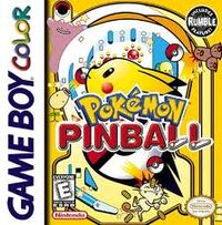 Pokmon Pinball Boxart
