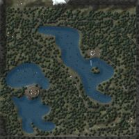 Myrkwood Forest map