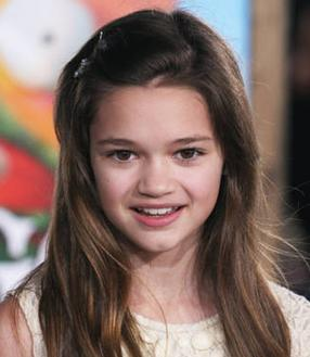 Ciara Bravo at the Rango premiere