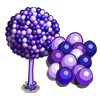 Purple Bubble Gum Tree-icon