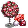 Red Gem Tree-icon