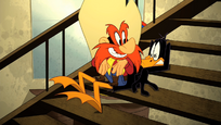Breaking Sam's Fall and Daffy's Back