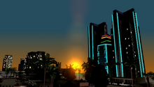 Vista de Vice City Beach