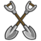 Set of 2 Shovels-icon