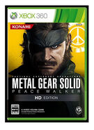 Metal Gear Solid Peace Walker HD Edition Xbox 360 JP boxart
