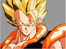 Gogeta SSJ Artwork by skeletrik