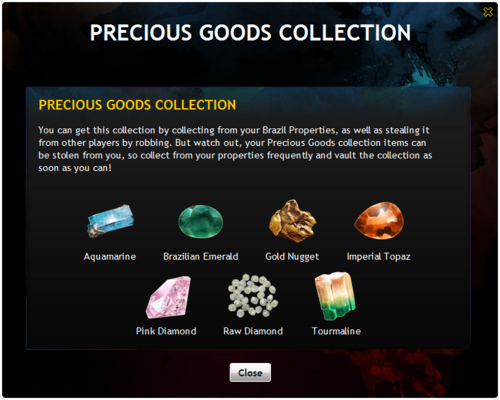 Precious Goods Collection