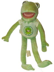 Kermit it&#39;s easy being green plush