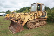 Cat 943 traxcavator at EM wd 2011 - IMG 0507