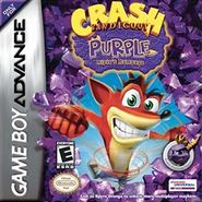 Crash Bandicoot Purple - Ripto&#39;s Rampage Coverart