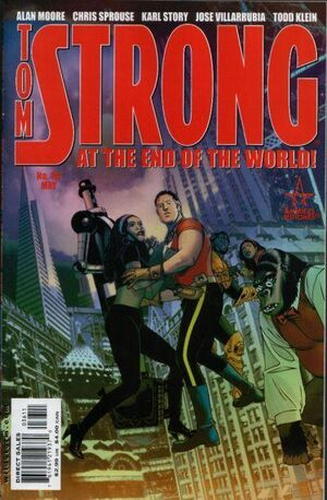 Cover for Tom Strong #36
