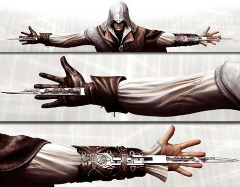 how to get double hidden blade in assassin creed brotherhood
