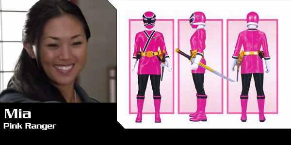 Mia rangerstogether wiki - Power ranger samurai rose ...