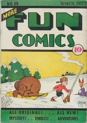 Cover for More Fun Comics #19