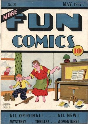 Cover for More Fun Comics #20