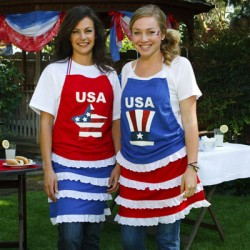 250px-4th of July Apron Holiday Craft Project