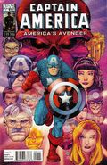 Captain America America&#39;s Avenger Vol 1 1