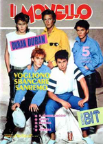 MONELLO no.41 1984 italia magazine duran duran