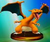 Charizard SSBM Trophy