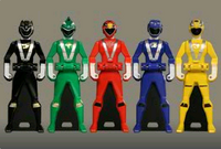 Go-onger Ranger Keys