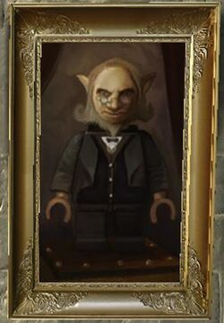 Portrait of a goblin