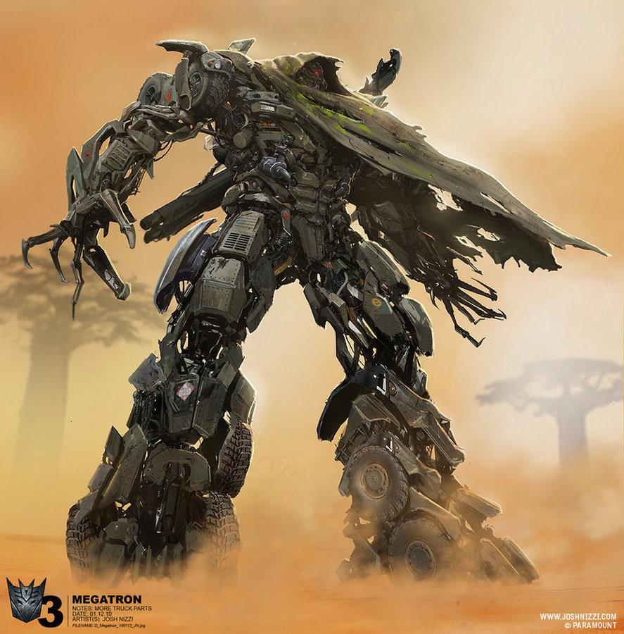 [Prime1Studio] Transformers: Revenge of The Fallen: Megatron Polystone Statue Dotm-megatron-concept-1