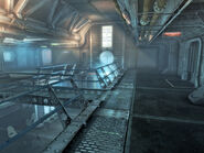 Vault 101 atrium