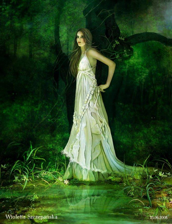 Forest Nymphs Greek Mythology