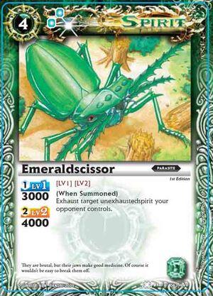 BS01 -battle spirits set 1 -spirits. 300px-Emeraldscissor2
