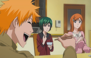 E330 Kon eats with Nozomi, Orihime