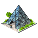 Glass Pyramid-icon