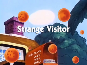 StrangeVisitor