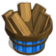 Apple Wood Basket-icon