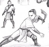 Sokka concept art