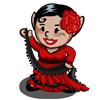 Flamenco Gnome-icon