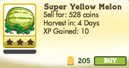 Super Yellow Melon Unlocked