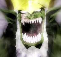 Elfman as a monster