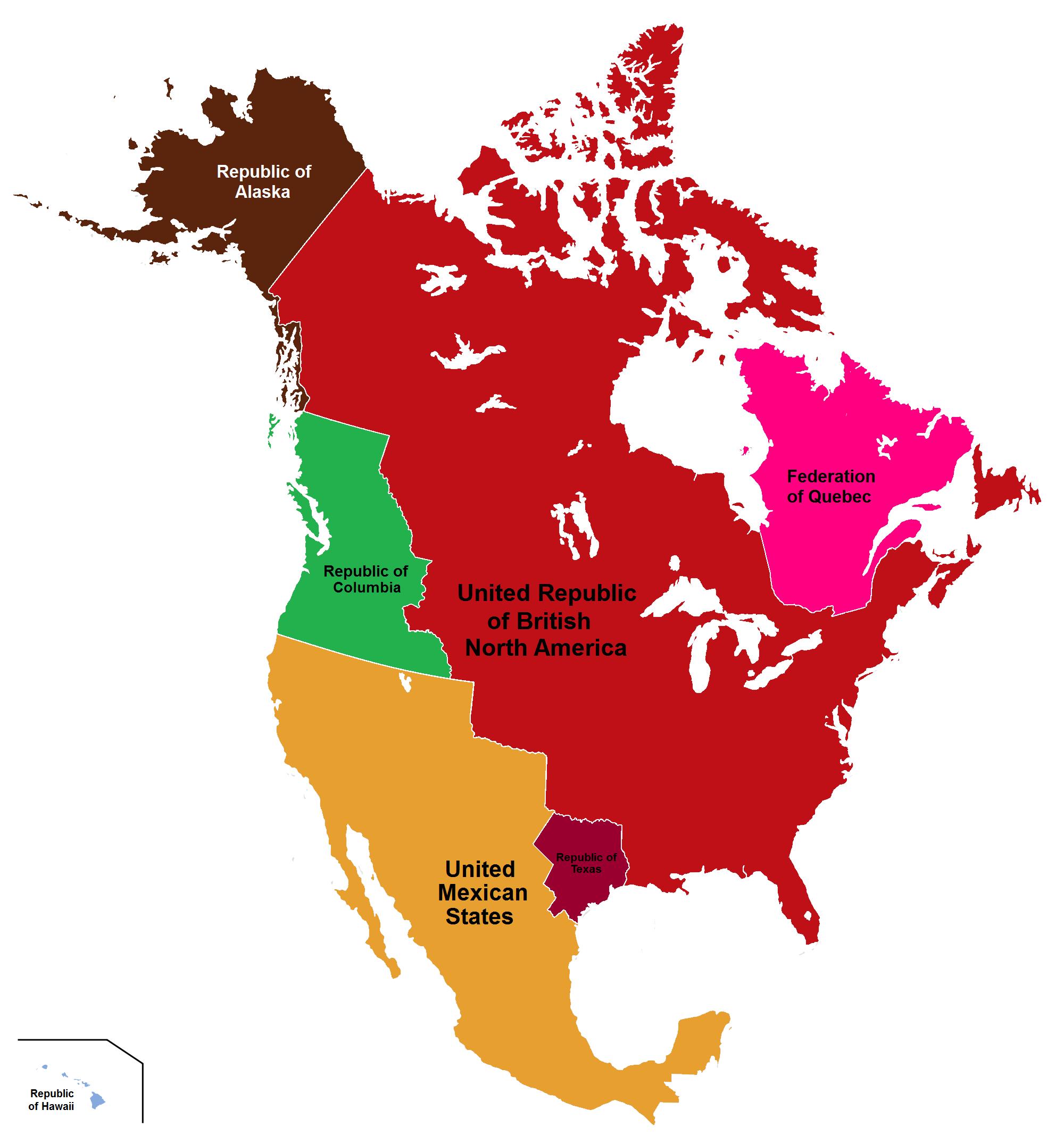 Maps (their British America) on
