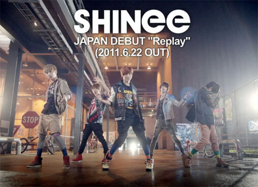 Shinee replay-japan